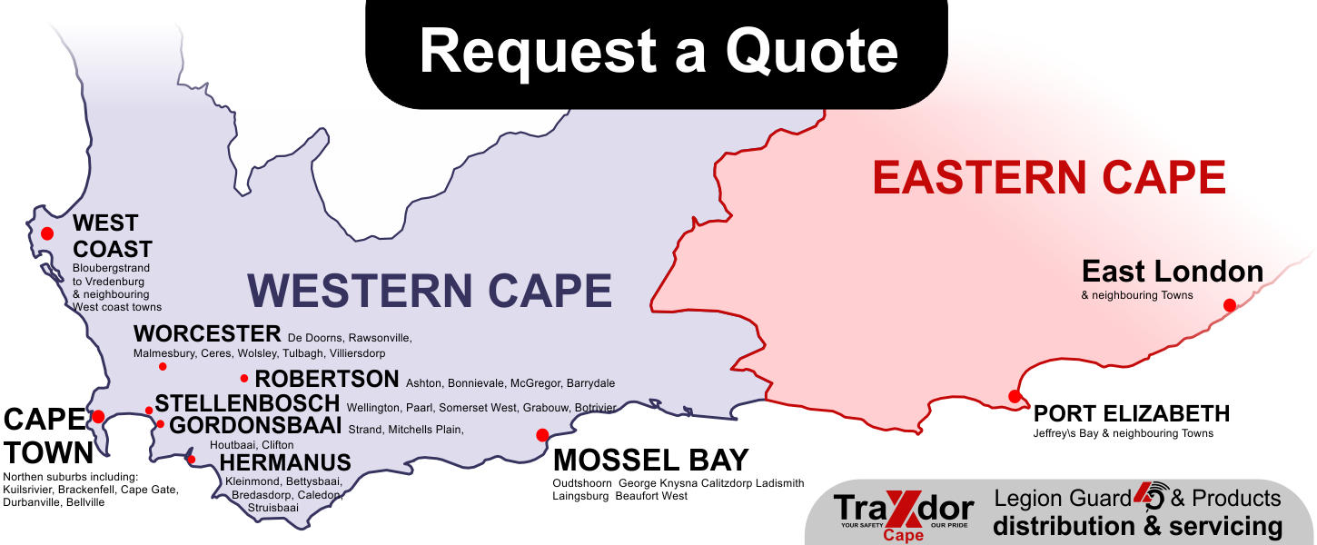 Traxdor Cape Security gates distribution in Western Cape and Eastern Cape