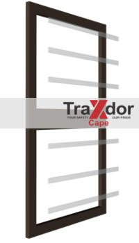 Transparent burglar bars by Traxdor Cape - Western Cape and Eastern Cape