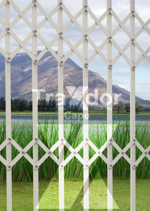 Legion Guard Trellis security gate burglar bar for residential & industrial use by Traxdor Cape, Western & Eastern Cape