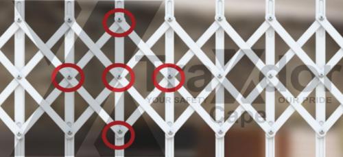 Legion Guard trellis security gate multicross protection, Traxdor Cape, Western & Eastern Cape