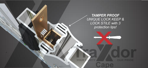 Legion Guard trellis security gate slam lock protection, Traxdor Cape, Western & Eastern Cape