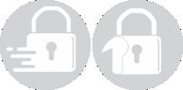 Slam Lock and Hook Lock icons - Traxdor Cape